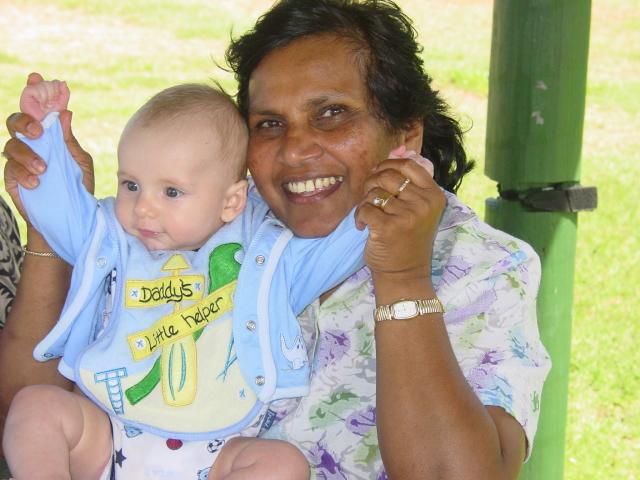 Mum and Xander