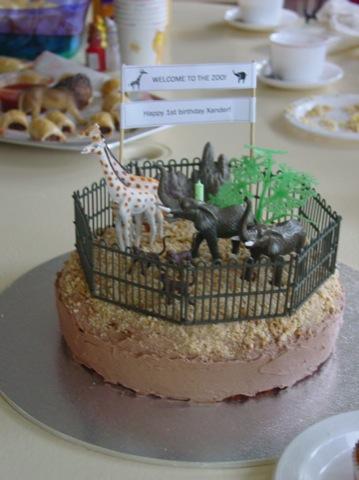 Xander's 1st birthday cake